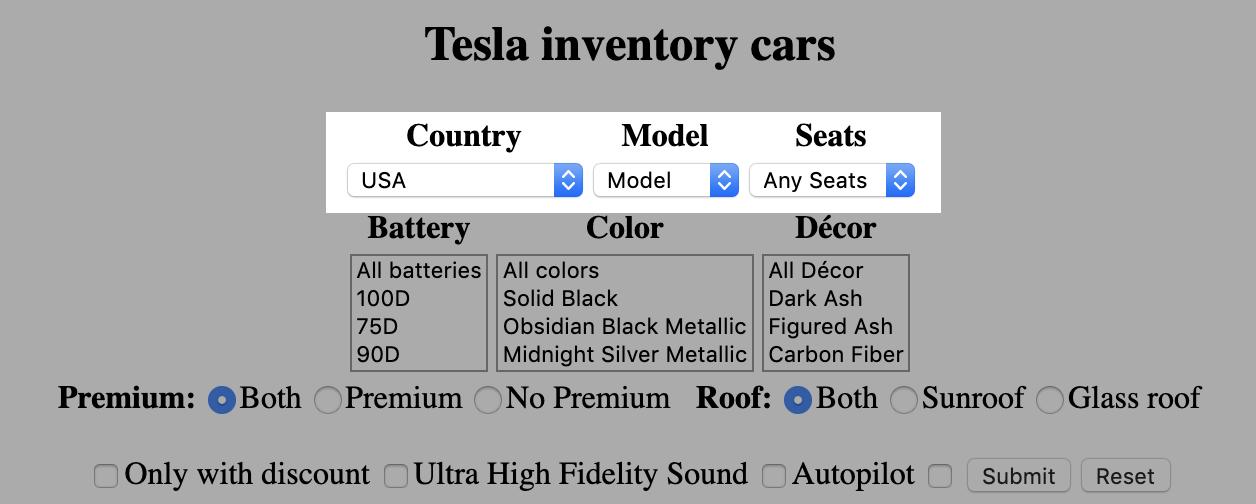 Tesla Inventory List - Find your next car